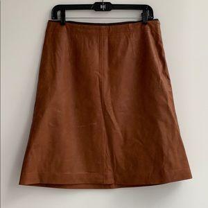 Club Monaco leather skirt, size 8